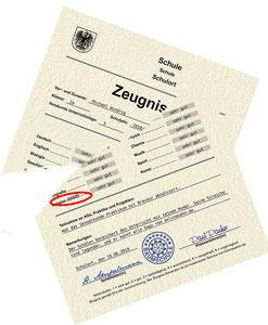 Bereits gedruckte, unterschriebene und gestempelte Zeugnisse für die Schüler*innen mit dem Religionsbekenntnis IGGÖ sind zu vernichten und neu auszustellen. Bild:spagra