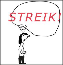 Streik der FreizeitpädagogInnen am 14.2.2019  Bild:spagra