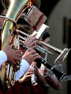 Ob Tuba oder Flöte - bei der Bläserklasse kann sich jeder sein Instrument aussuchen. (Foto: Grey59/pixelio.de)