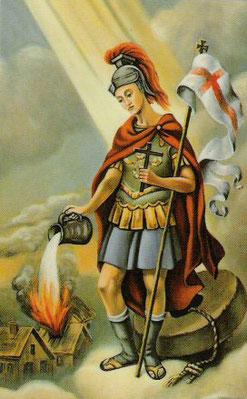 Heiliger Florian - Schutzpatron der Feuerwehren Klingfurth