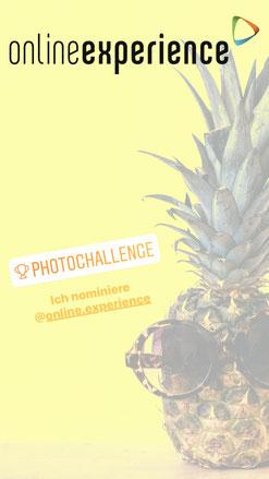 Instagram Story mit Challenge Sticker