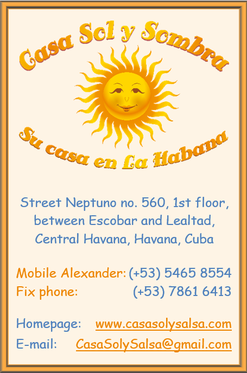 Business Card Casa Sol y Sombra