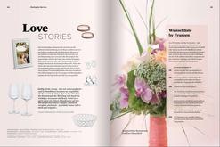 Brautstrauß von PURE im Franzen-Katalog 2017