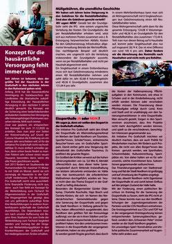 Informationsblatt der Kreistagsfraktion der Initiative Pro Grafschaft e.V.
