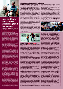 Informationsblatt der Kreistagsfraktion der Initiative Pro Grafschaft e.V.