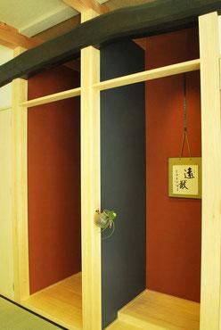 床の間 仏間 花器 床柱