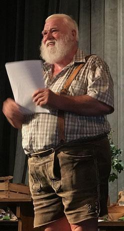 Der Wastl beim Vortrag in Kufstein