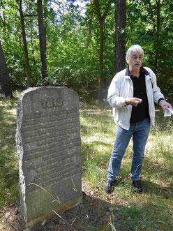 Gedenkstein für den Befreiungskrieg August 1813 nahe Großbeeren