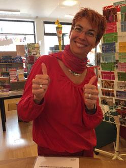 Manuela Mankus, Inhaberin Der Bücherwurm