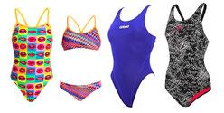Schwimmtraining Badeanzüge