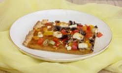 Süßkartoffel-Klammkuchen Süßkartoffel-Pizza glutenfrei