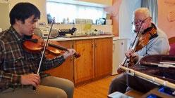 フィドル アイリッシュ音楽 レッスン 教室