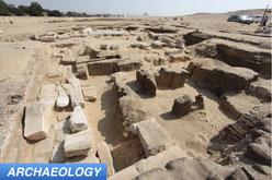 Ramses II temple in Abusir Egypt