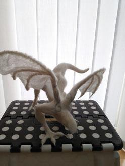 羊毛フェルト ドラゴン オーダー 翼