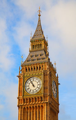 Fünf vor Elf (UTC +1), Big Ben, London