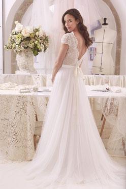 robe de Mariée Clémentine Tulle