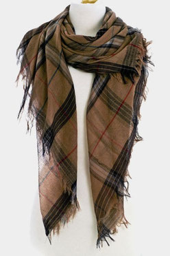 Scarf Style: QSF13116300 Brown