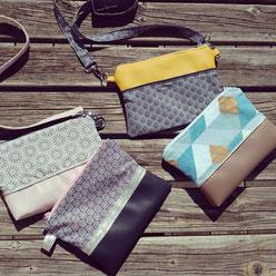 Les Ateliers de Blanche Ateliers couture activité enfant la Balme de Sillingy Annecy 74 pochettes et sac à main loisirs créatifs diy