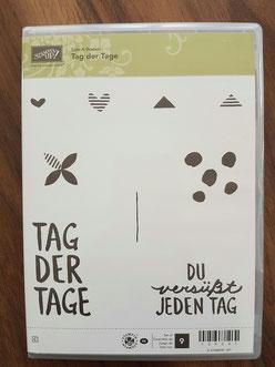"""Stempelset """"Tag der Tage"""" (nur ein Stempel benutzt) - 8 Euro"""