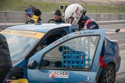 ADAC Dacia Logan Cup Saisonauftakt 2018 Motorsportarena Oschersleben Dennis Bröker
