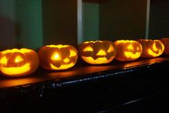 かぼちゃランタン