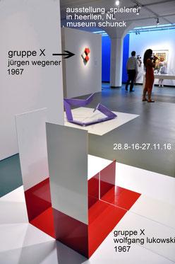 "ausstellung ""Spielerei"" im schunck kulturzentrum, heerlen NL"