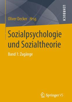 Cover Lehrbuch Sozialpsychologie und Sozialtheorie