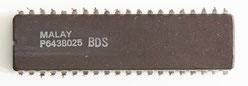 Intel D8086-2 Back View