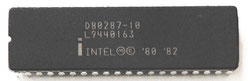 Intel D80287-10 Front View