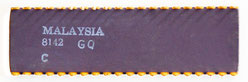 Intel C8751-8 Back View