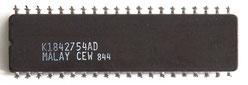 Intel D8085AH-2 Back View