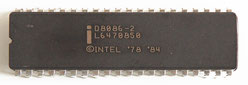 Intel D8086-2 Front View