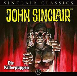 CD Cover John Sinclair Classics Killerpuppen