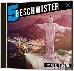 CD Cover 5 Geschwister - Das Wunder von Rio