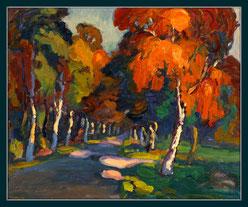 Der Herbst, der farbige Faun von Wolf-Dietmar Stock