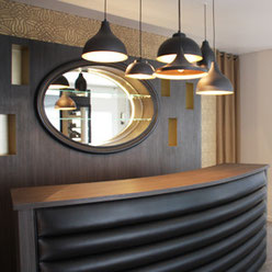 création d'un meuble accueil bar