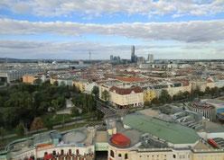 Wien vom Wienerrad aus gesehen