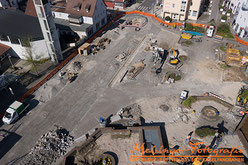 Luftbilder Baustellendokumentation für Rutesheim, Stuttgart, deutschlandweit