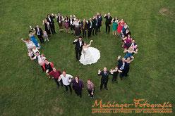 Luftbilder Hochzeit für Rutesheim, Stuttgart, deutschlandweit