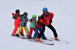 Skikurs in Sachrang an den Kaiserliften 2018