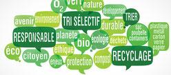 tri sélectif -  recyclage - citoyen - traitement - éco