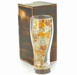 九谷焼通販 おしゃれなビアグラス ビアカップ Glasses 加賀のお殿様・お姫様気分