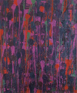 水場P.8(紫)    キャンバスに油彩   60.6×50cm