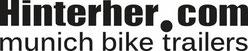Link zum Fahrradanhänger - Hinterher.com-Logo