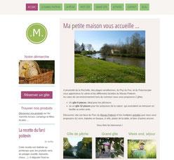 Site mapetitemaison.fr crée avec e-cime.fr creation de site internet