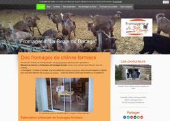 site la bezie du bocage cree en formation avec e-cime.fr spécialiste du site avec optimisation Référencement pour TPE
