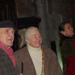 Ehepaar Reck mit Tochter Genoveva in Kattowitz