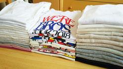 服の片づけ。タンス、クローゼット整理。Tシャツも綺麗に畳む方法がありますよ