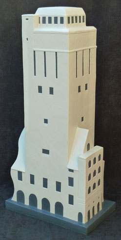 Wasserturm Delmenhorst 160cm Skulptur-Kunstwerk von künstlerstein.de Mathias Rüffert