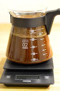 Bild 3: Rühren Sie den Kaffee langsam um